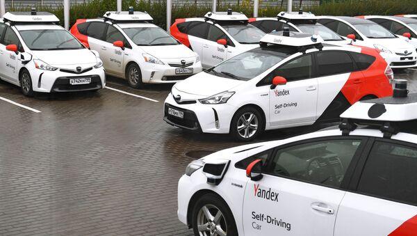 Vehículos autónomos de Yandex - Sputnik Mundo