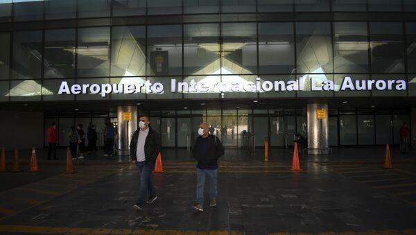 El aeropuerto internacional de La Aurora en Guatemala - Sputnik Mundo