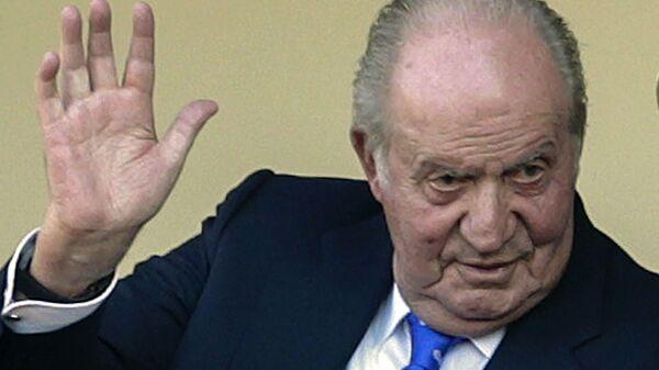 El rey emérito Juan Carlos I - Sputnik Mundo