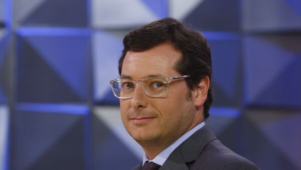 Fábio Wajngarten, número dos del Ministerio de Comunicaciones de Brasil - Sputnik Mundo