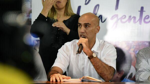 Julio Mazzoleni, ministro de Salud de Paraguay - Sputnik Mundo