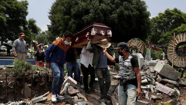 Un funeral en Ciudad de México - Sputnik Mundo
