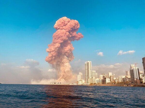 Взрыв в Бейруте - Sputnik Mundo