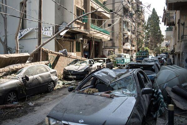 Последствия взрыва в Бейруте - Sputnik Mundo