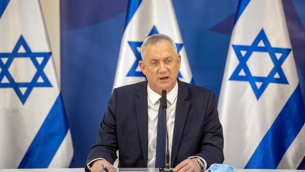Benny Gantz, ministro de Defensa de Israel - Sputnik Mundo