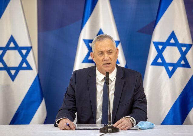 Benny Gantz, ministro de Defensa de Israel