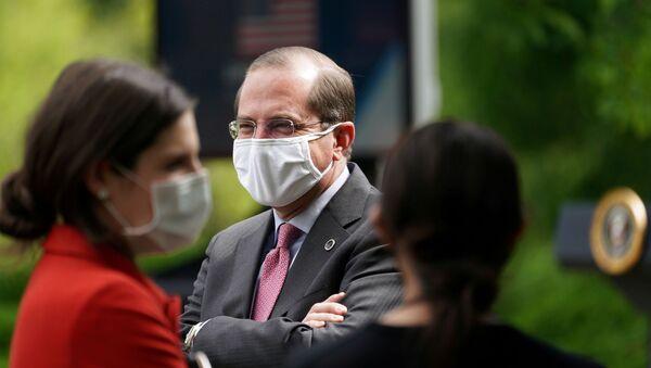 Alex Azar, el secretario de Salud de EEUU - Sputnik Mundo