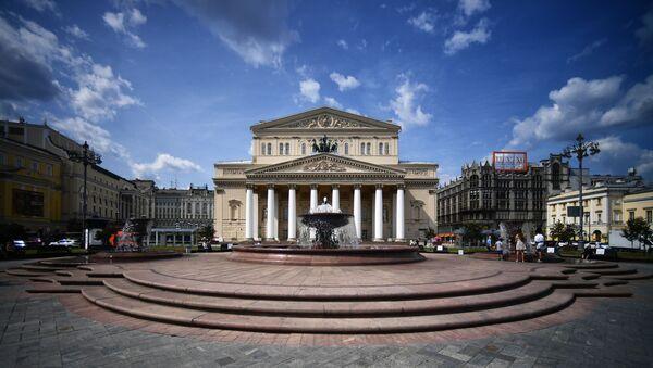 Teatro Bolshói en Moscú - Sputnik Mundo