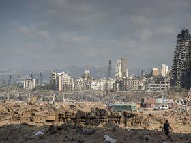 Así ha quedado Beirut tras la potente explosión en el puerto