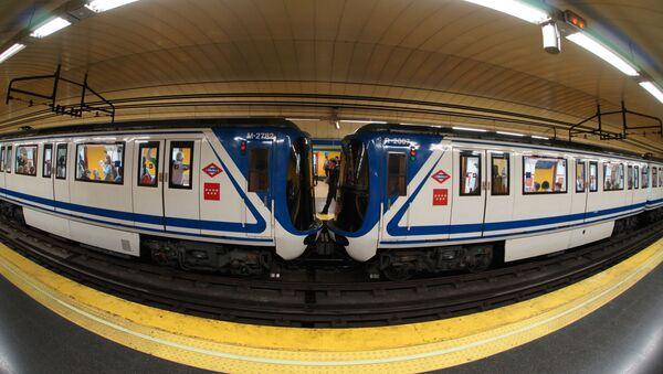 Metro de Madrid - Sputnik Mundo