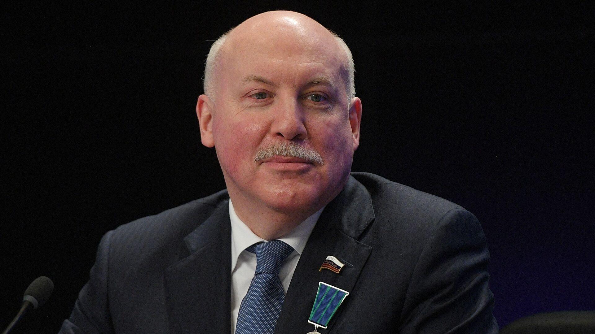Dmitri Mézentsev, embajador ruso en Bielorrusia - Sputnik Mundo, 1920, 19.03.2021