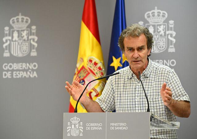 Fernando Simón, director del Centro de Coordinación de Alertas y Emergencias Sanitarias del Ministerio de Sanidad de España