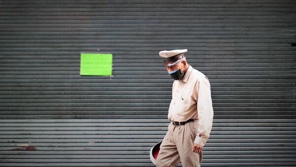 La Ciudad de México durante la pandemia por el COVID-19 - Sputnik Mundo