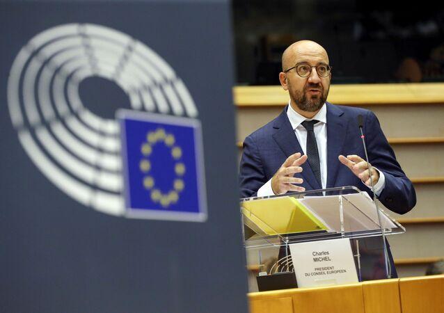 Charles Michel, presidente del Consejo Europeo