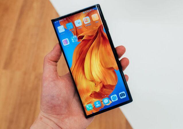 Un 'smartphone' de Huawei, foto de archivo