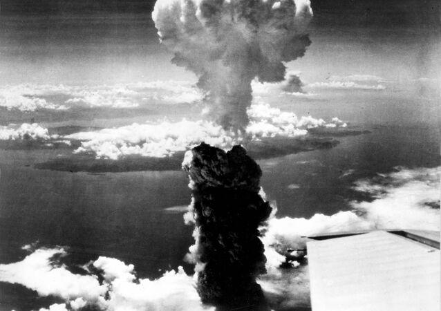 El bombardeo aómico de Nagasaki (archivo)