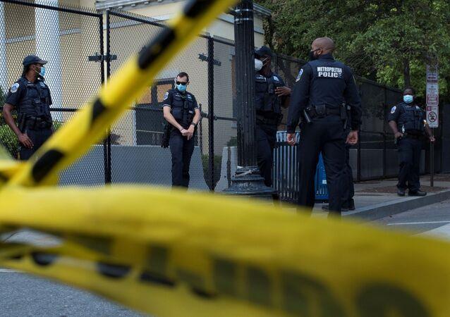 La Policía de Washington (archivo)