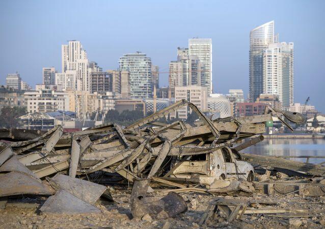 Consecuencias de la explosión en el Líbano