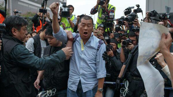Jimmy Lai, magnate de los medios de comunicación (Archivo) - Sputnik Mundo