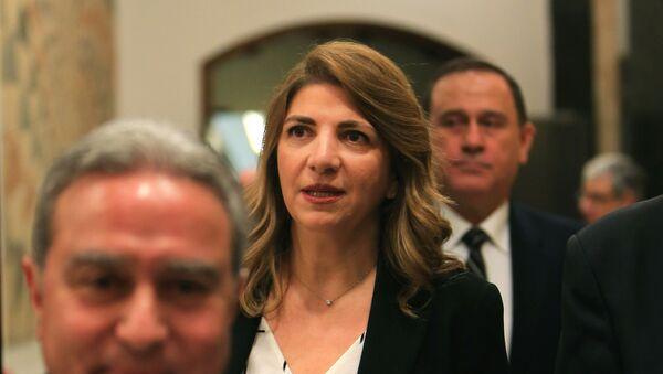 La ministra de Justicia del Líbano, Marie-Claude Najm - Sputnik Mundo