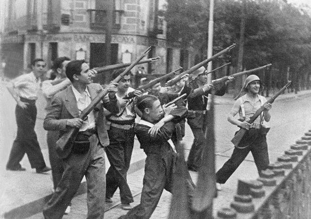 Guerra Civil en España (archivo)