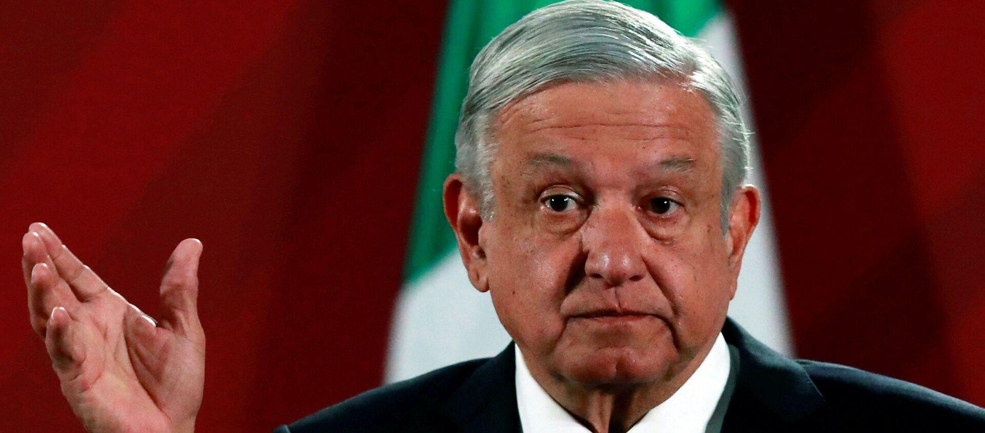 Andrés Manuel López Obrador, presidente mexicano - Sputnik Mundo, 1920, 10.08.2020
