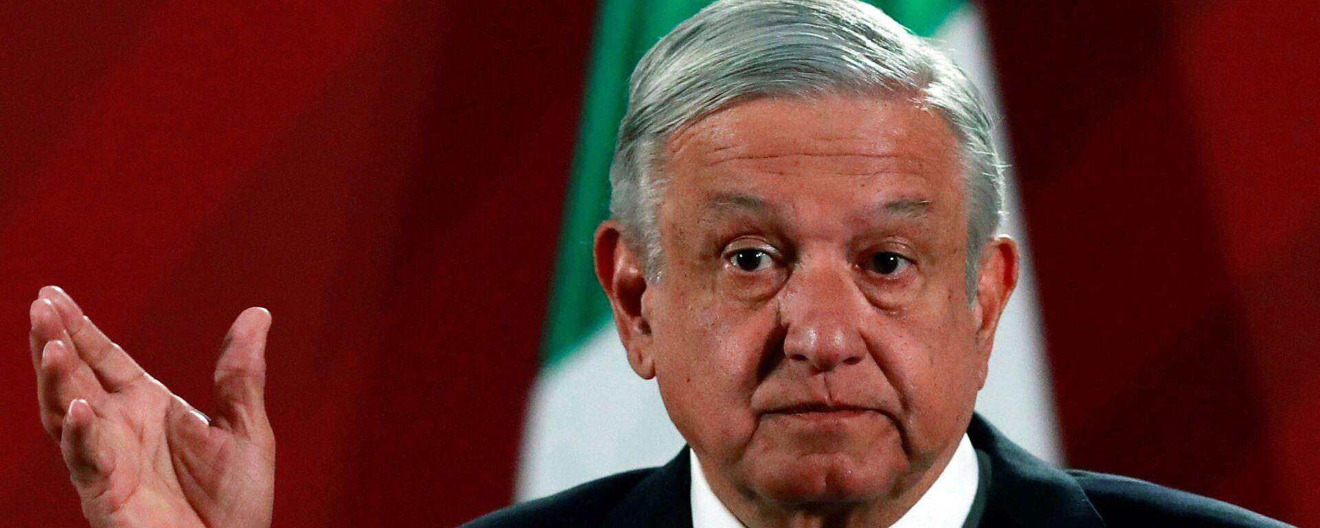 Andrés Manuel López Obrador, presidente mexicano - Sputnik Mundo, 1920, 01.09.2020