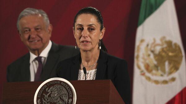 Claudia Sheinbaum, alcaldesa de la Ciudad de México - Sputnik Mundo