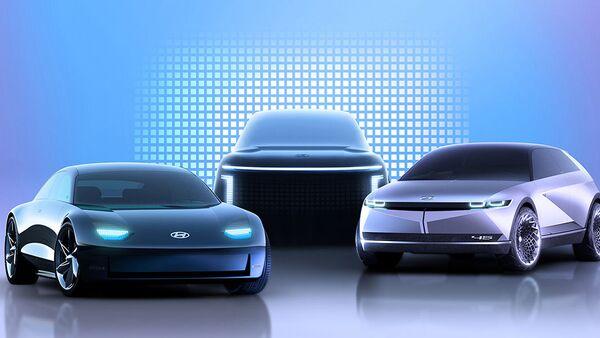 Los tres nuevos modelos eléctricos de Hyundai - Sputnik Mundo