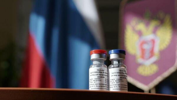 Primera vacuna contra COVID-19 en el mundo registrada en Rusia - Sputnik Mundo