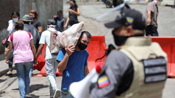 Coronavirus en Caracas - Sputnik Mundo