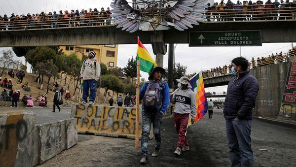 Protestas en El Alto, Bolivia - Sputnik Mundo