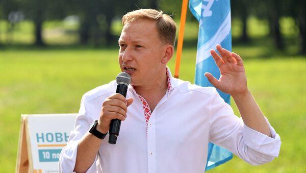 Andréi Dmítriev, candidato a ocupar la presidencia de Bielorrusia - Sputnik Mundo