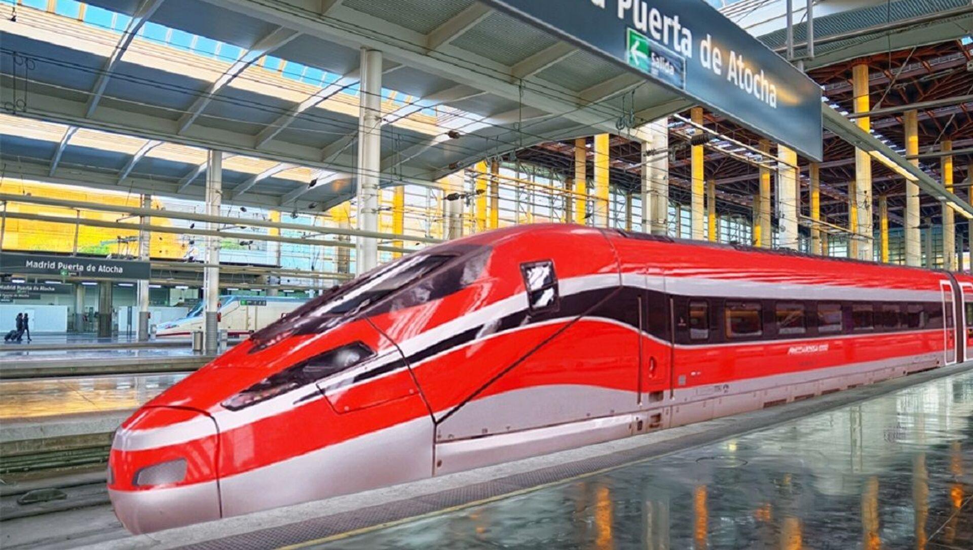Hitachi y Bombardier se adjudican el contrato para el suministro de 23 trenes Frecciarossa - Sputnik Mundo, 1920, 12.08.2020
