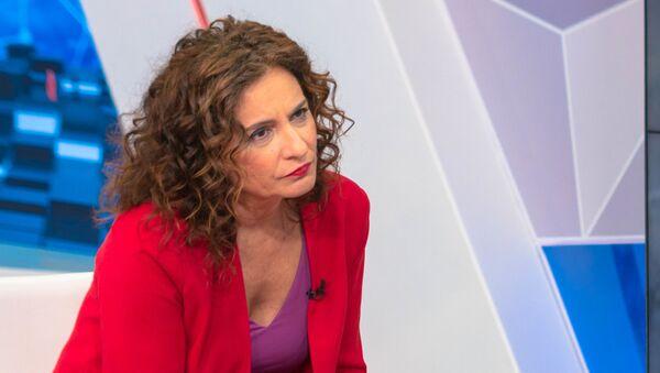 María Jesús Montero - Sputnik Mundo