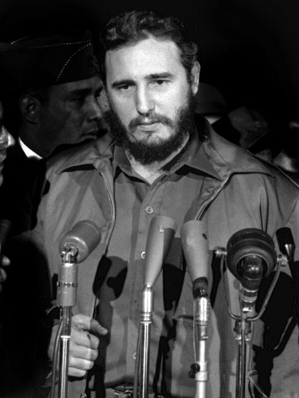 Fidel Castro en Washington, en 1959 - Sputnik Mundo