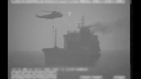 Captura de pantalla del vídeo compartido por CENTCOM de EEUU - Sputnik Mundo