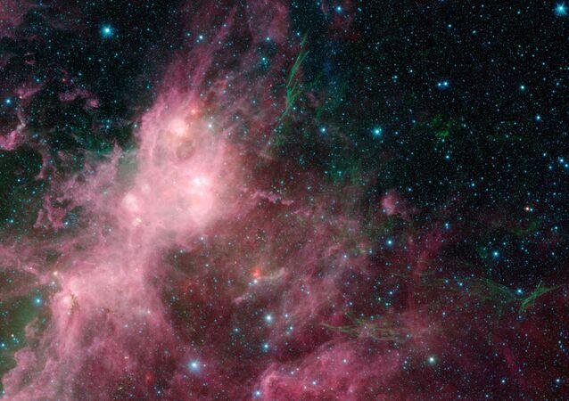 Los restos de una estrella que explotó en una supernova (archivo)