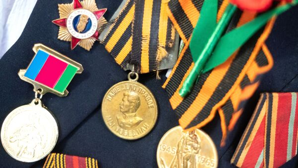 Las medallas soviéticas (imagen referencial) - Sputnik Mundo