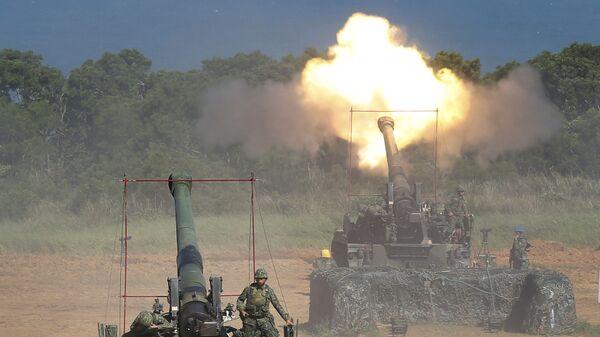 Maniobras militares en Taiwán (archivo) - Sputnik Mundo