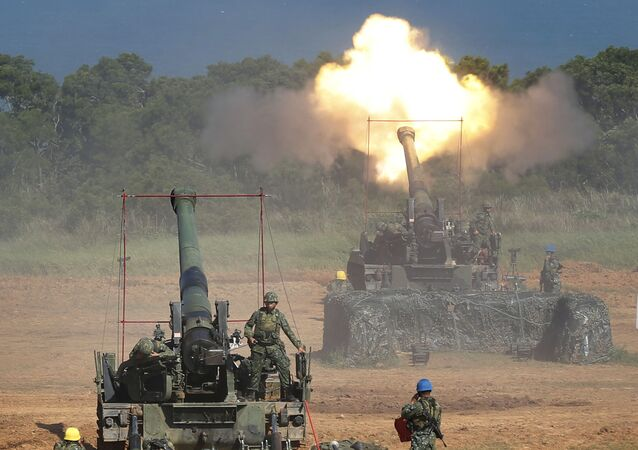 Maniobras militares en Taiwán (archivo)