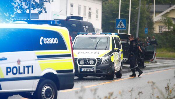 Policía noruega - Sputnik Mundo