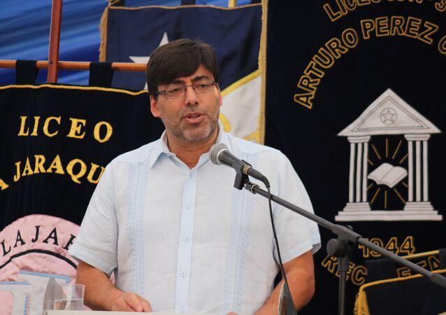 Daniel Jadue, alcalde de Recoleta