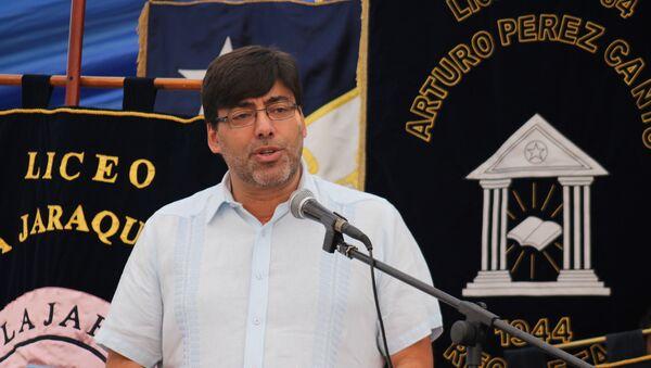 Daniel Jadue, alcalde de Recoleta - Sputnik Mundo