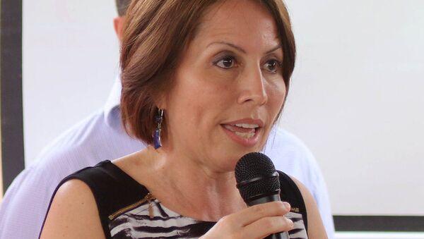María de los Ángeles Duarte Pesantes, exministra de Transporte de Ecuador - Sputnik Mundo