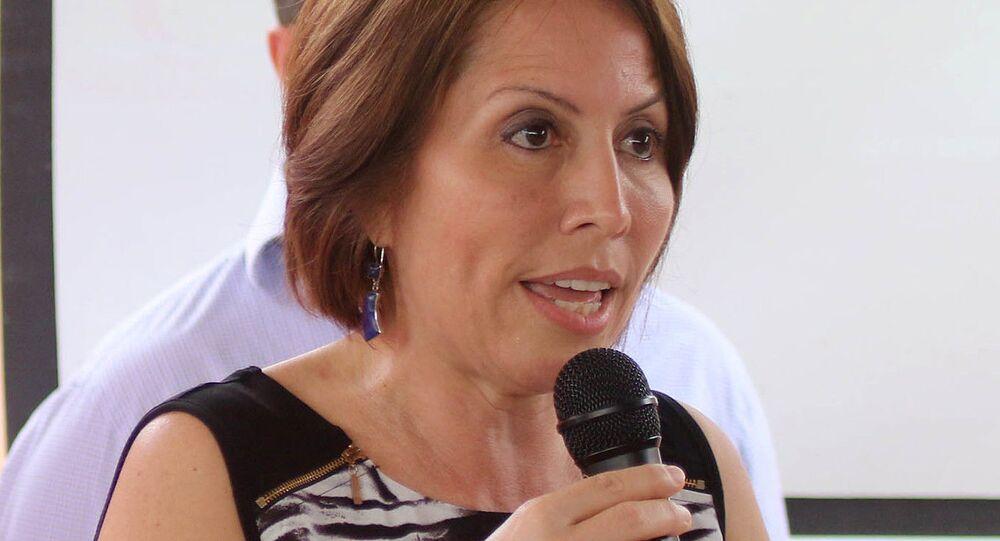 María de los Ángeles Duarte Pesantes, exministra de Transporte de Ecuador