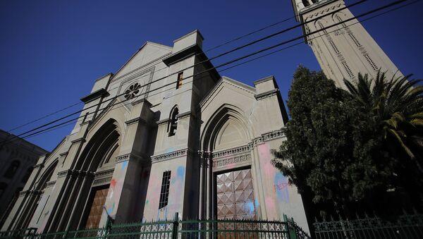 Iglesia chilena - Sputnik Mundo