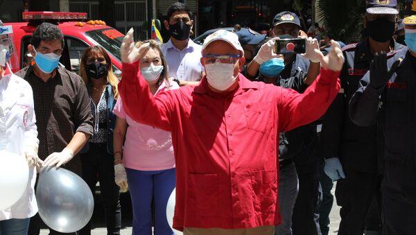 Dario Vivas, jefe del Distrito Capital de Venezuela - Sputnik Mundo