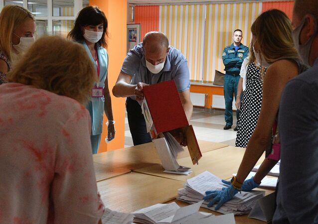 Las elecciones en Bielorrusia