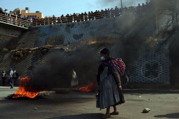 Протесты в Эль Альто, Боливия  - Sputnik Mundo